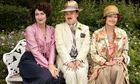 Anna Chancellor, Steve Pemberton and Miranda Richardson in Mapp and Lucia