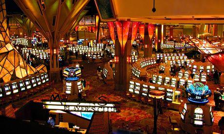The Mohegan Sun casino
