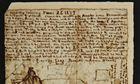 Emily Brontë's diary entry