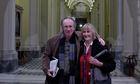 Ian McEwan with his agent Deborah Rogers