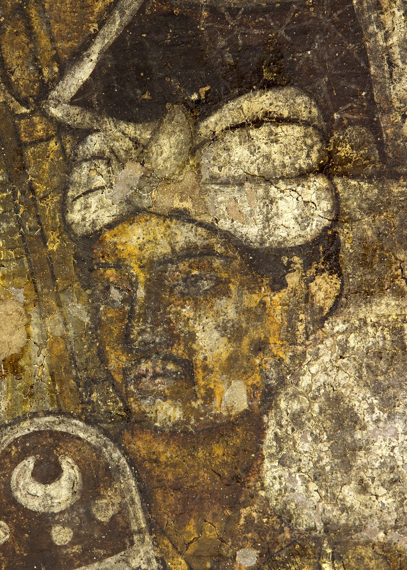 The ajanta cave murals 39 nothing less than the birth of for Ajanta mural painting