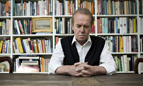 Martin Amis at home in Brooklyn, New York.