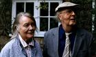 Iris Murdoch and husband John Bayley