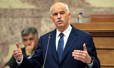 GEORGE PAPANDREOU - Into the hands of the (former) Prime Minister of Greece George-Papandreou-007