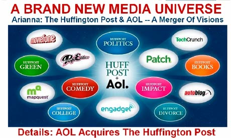 AOL To Buy Huffington Post For $315 Million