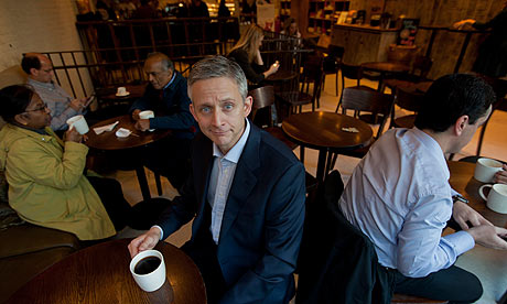Starbucks UK boss Kris Engskov