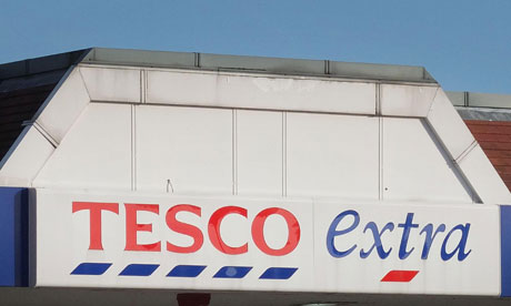 Sales Growth Boosts Tesco Revival