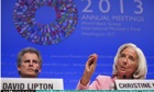 IMF And World Bank Hold Annual Meetings