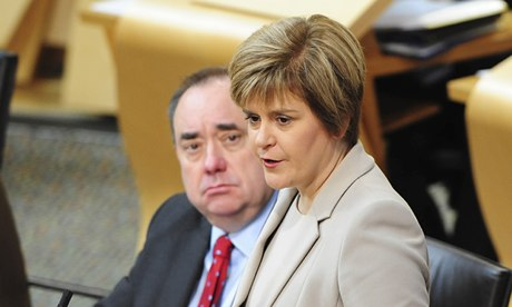 Scottish Independence Referendum Bill Passes