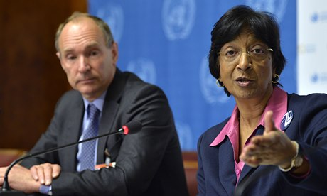 Tim Berners-Lee, Navi Pillay