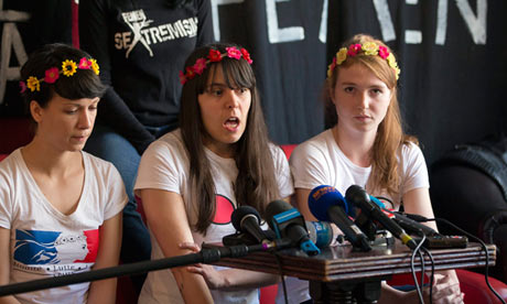 Femen activists freed from Tunisia prison