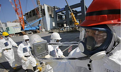 Fukushima Nuclear power plant  in Japan