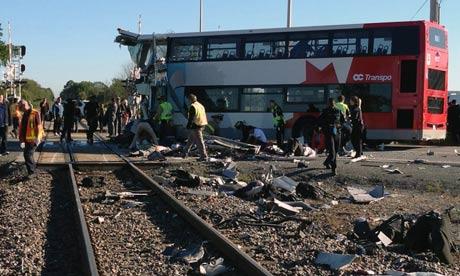 Ottawa Train-Bus Crash
