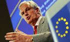 Michel Barnier, the European commissioner responsible for financial services