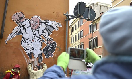 Pope Francis art