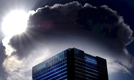 Barclays Bank under a cloud