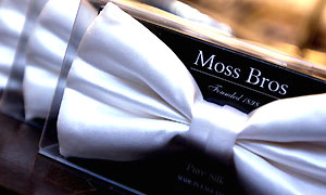 Moss Bros. Photograph: Newscast