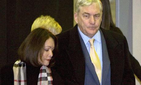 Conrad Black arrives for sentencing