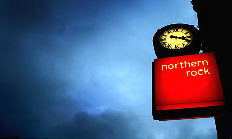 Northern Rock. Photograph: Getty Images