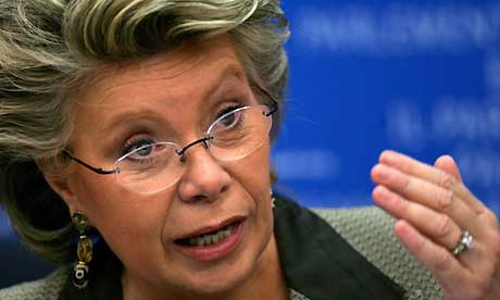 EU Commissioner for Fundamental Rights Viviane Reding