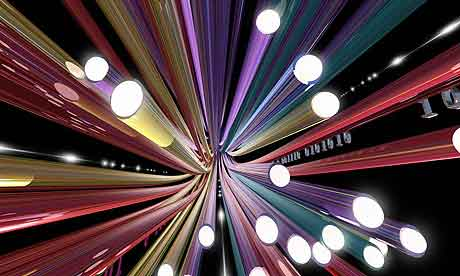 High speed broadband fibreoptics