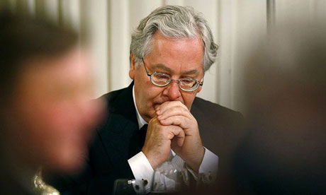 Bank of England governor Mervyn King.