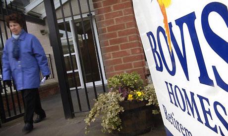 Bovis homes in London