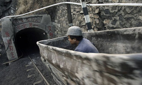 A Chinese coal mine