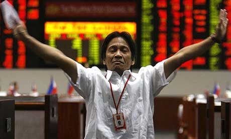 III rang on Tuesday the opening bell at the Philippine Stock Exchange,