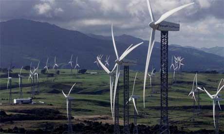 Vestas wind turbines