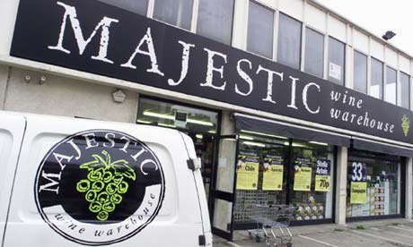 Majestic Wine outlet