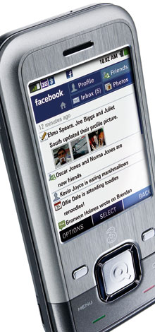 INQ1 - 3's 'Facebook phone'