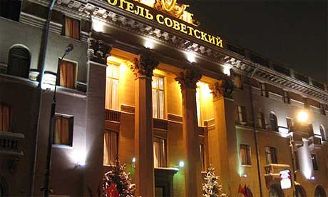The Sovietsky Hotel in Moscow