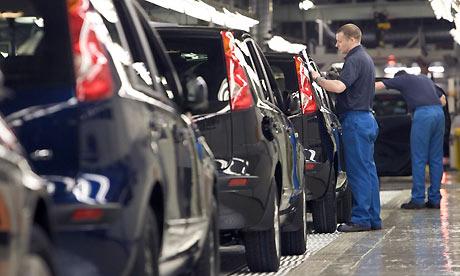 Nissan plant in Sunderland. Photograph: Gary Calton