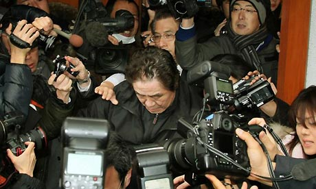 Kazutsugi Nami arrested on suspicion of fraud.
