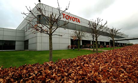 Toyota Cuts Uk Pay And Production By 10 Business The