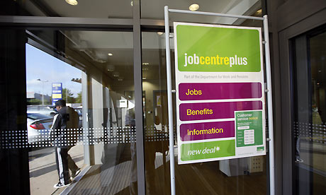 Unemployment: Selly Oak Jobcentre in Birmingham