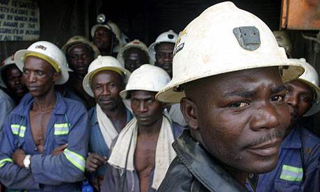 miners in zambia