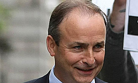 Irish foreign minister, Michael Martin