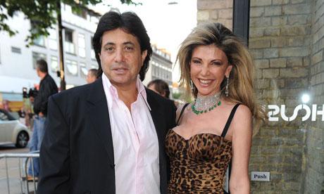 Vivian Imerman and Lisa Tchenguiz