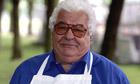 Antonio Carluccio in apron