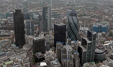 Gherkin, City of London (taken 2010)