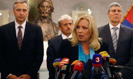 Slovak Prime Minister Iveta Radicova