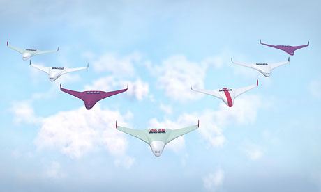 Aeroplanes of the future: pilot-free, solar-powered and in formation
