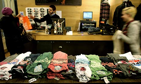 SuperGroup's Superdry store in Covent Garden
