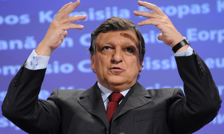 European commission president Jose Manuel Barroso speaks during a press conference, 23 November 2011