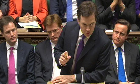 Autumn statement 2011: George Osborne admits UK recession risks