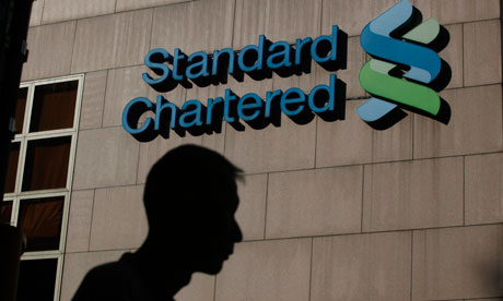 Standard Chartered logo, with
