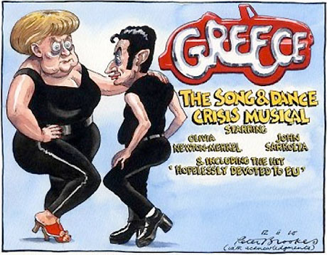Times Merkel-Sarkozy cartoon