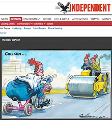 Independent cartoon
